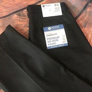 NWT Haggar Straight Fit Mens Dress Pants Sz 30x30